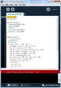 有关openprocessing网站的部分程序说明 - 第2张  | Processing编程艺术