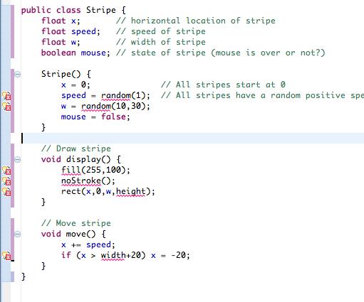 翻译: 用其他开发环境写Processing 时如何处理多个类 - 第2张  | Processing编程艺术