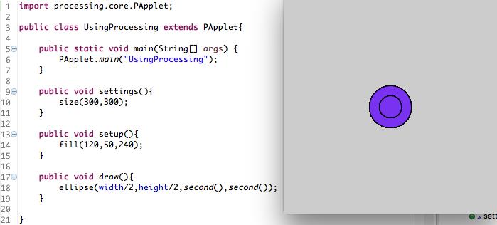 翻译: 用其他开发环境写Processing 时如何处理多个类 - 第1张  | Processing编程艺术